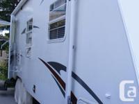2009 Trail Sport Lite 25 foot travel trailer. It is