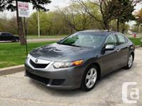 2009 Acura TSX,  Automatic, 4 cyl, service records, new
