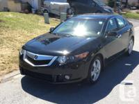Make Acura Model TSX Year 2009 Colour Black kms 89500