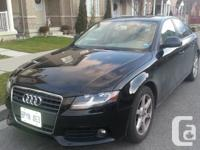 - 2009 AUDI A4 PREMIUM  QUATTRO WITH TURBO CHARGED 2.0