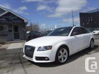Make Audi Model A4 Series Year 2009 Colour WHITE kms