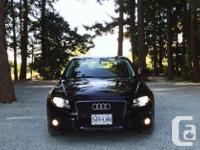 Make Audi Model A4 Year 2009 Colour Black kms 85000