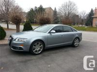 Thornhill, ON 2009 Audi A6 4.2 Quattro S-line This