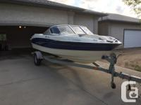 2009 Bayliner 185 with 4.3 190 hp Mercury drive. Is in