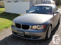 2009 BMW 128i, 6 cylinder, Leather Interior with carbon