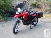 Make BMW kms 10075 2009 BMW F650GS. Twin 800cc. 10,075
