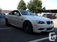 25,000 kms on this 2009 e92 m3, fresh snow tires, fully