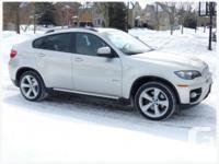 2009 BMW X6 Premium sport utility. Carproof verified,