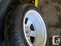 never been driven on was a spare tire 17 inch alloy