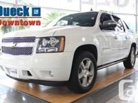 2009 Chevrolet Avalanche Loaded, White with Leather