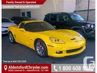 Make Chevrolet Model Corvette Year 2009 Colour Yellow