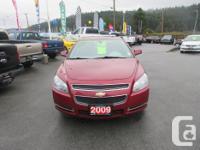 Make Chevrolet Model Malibu Year 2009 Colour Red kms