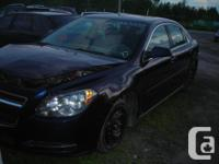 DISMANTLING 09 CHEVY MALIBU FOR PARTS, FRONT END