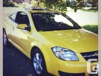 Make Chevrolet Model Cobalt Year 2009 Colour Yellow