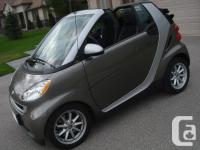 Make. Smart. Model. Fortwo. Year. 2009. Colour.