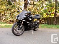 Used, Hi I am selling my motorbike. It is running perfectly for sale  British Columbia