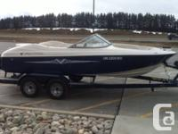 An immaculately maintained 8 passenger fish/ski/family