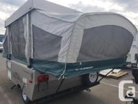 Very neat and tidy tent trailer for sale. In immaculate