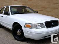 Make Ford Model Crown Victoria Police Pkg Year 2009