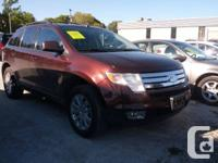 2009 FORD EDGE SEL- $10, 998* Certified and E-tested