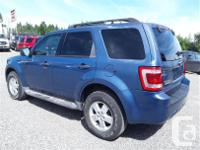 Make Ford Model Escape Year 2009 Colour Blue kms