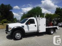 Make Ford Model F-550 Year 2009 Colour White kms 41189