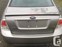 Trans Manual 2009 Ford Fusion SE -2.3LI-4 -5-Speed