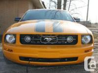 Make Ford Model Mustang Year 2009 Colour Orange kms