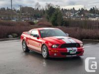 Make Ford Model Shelby Gt500 Year 2009 Colour Red kms