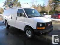 Make GMC Model Savana Cargo Van Colour White Trans