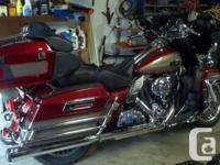 Make Harley Davidson Year 2009 kms 31000 2009 HD Ultra