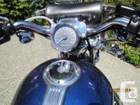 Second owner female ridden. 8762 kms. 2009 Harley