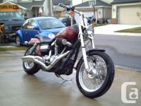 2009 Street Bob, thousands in extras & upgrades 18,000