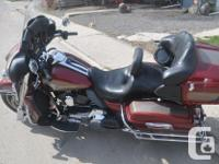 Make Harley Davidson Model Ultra Year 2009 kms 35413