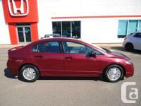 Make Honda Model Civic Year 2009 Colour Red kms 82461