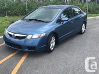 Make Honda Model Civic Year 2009 Colour Blue kms