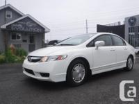 Make Honda Model Civic Hybrid Year 2009 Colour WHITE