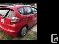 Make Honda Model Fit Year 2009 Colour Red kms 110000