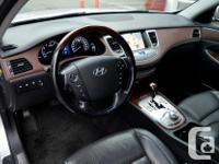 Make Hyundai Model Genesis Year 2009 Colour Silver kms