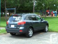 Make Hyundai Model Santa Fe Colour Blue - Grey Trans