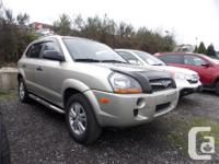 This 2009 Hyundai Tucson Utility comes with alloy