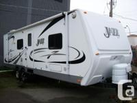Beautiful Jazz travel trailer. Bought new by my boss in