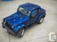 Make Jeep Model Wrangler Colour Blue Trans Manual kms