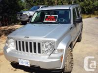 Make Jeep Model Liberty Year 2009 Colour Silver kms