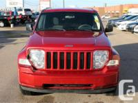 Make Jeep Model Liberty Year 2009 Colour Red kms