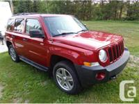 Red Lake, ON 2009 Jeep Patriot North This Jeep offers