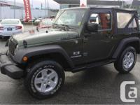 Make Jeep Model Wrangler Year 2009 Colour Green kms