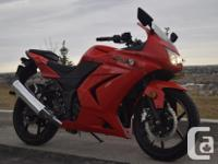 kms 3128 2009 Kawasaki EX 250R Ninja 3128 km Great