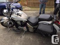 Make Kawasaki Model Vulcan Year 2009 kms 40000 Included
