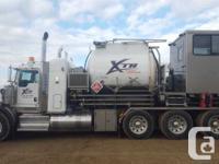 2009 Kenworth T800 tri-drive pressure truck, 27quot;